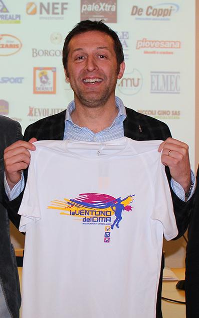 Francesco Piccin, presidente di Atletica Silca Conegliano